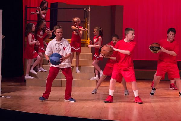 WBMS High School Musical Monday Dress Rehearsal