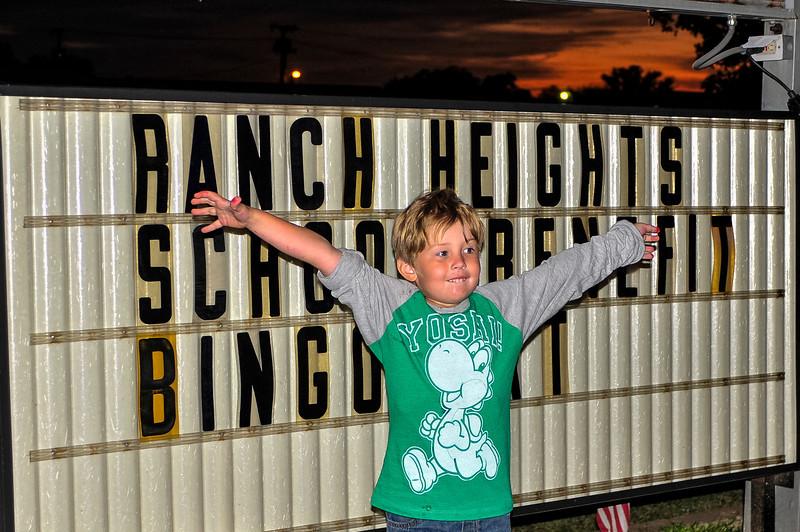 Ranch Heights bingo night