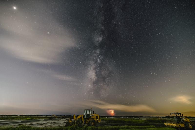 """Milky Way:  Under Construction"""