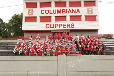 2015 Columbiana Football and Cheer