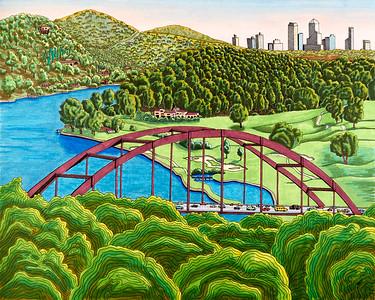 Monica's Landscape Drawings