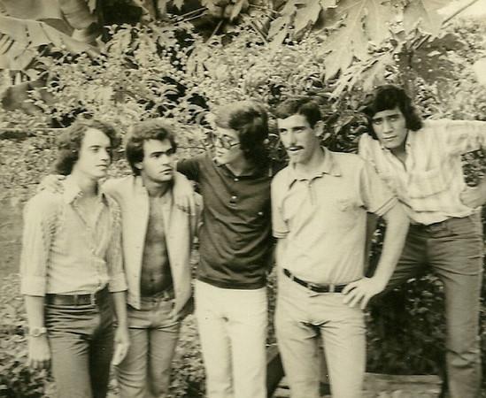 Ze' Cardoso, Nando Cerejeira, Rui Paulo Fernandes, ?, Ressurreicao
