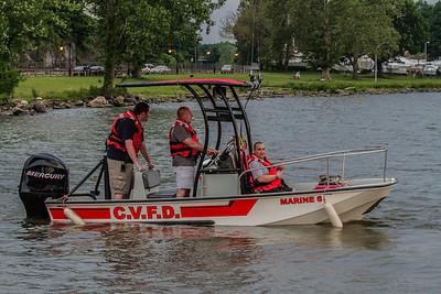 5-27-14 Boat Drill, Hudson River