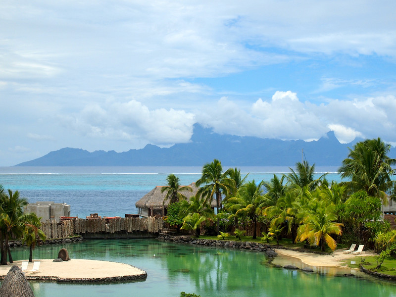 View from the InterContinental Tahiti