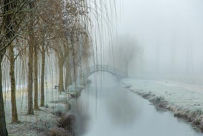 Lac de Frace / givre