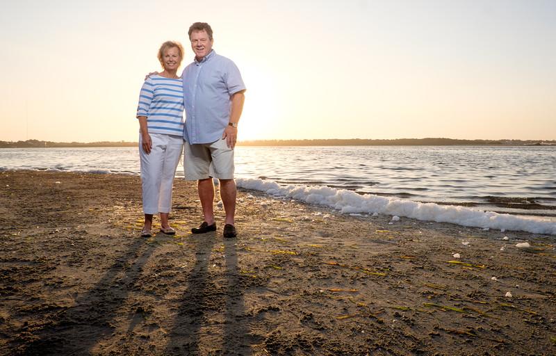 Fred Howard Park Family Beach Portriat Photos at Sunrise