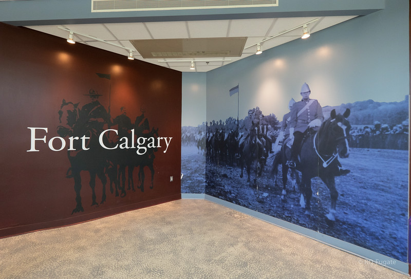For Calgary Museum - orgins of the Royal Canadian Mounted Police.