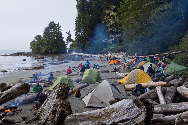 Trasher Cove campsite