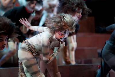 Peninsula Youth Theatre's Production of CATS 2011: Dress Rehearsal Highlights from Both Casts