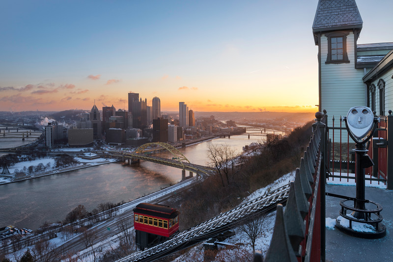 """A New Beginning"" - Pittsburgh, Mount Washington   Recommended Print sizes*:  4x6  