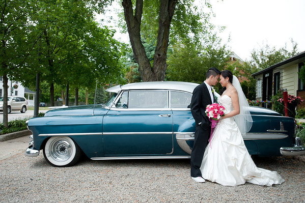 Sophia and Johnny's Wedding - Kleinburg Main Street