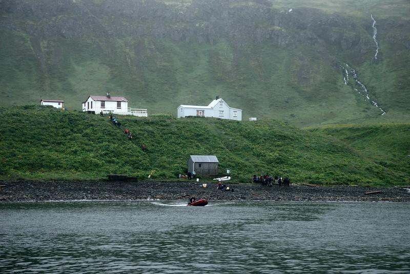 Hornvík. Hornbæirnir. Stíghús og Frímannshús. 2011.
