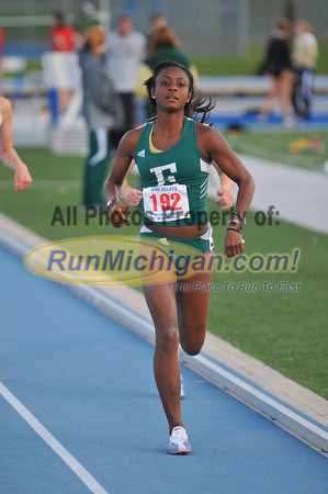 Women's 1500 Meters - 2012 Gina Relays