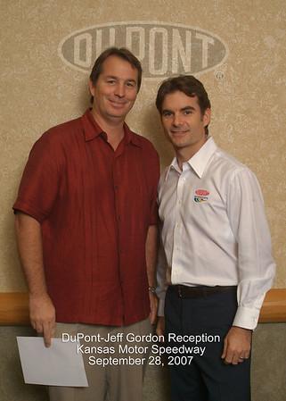 DuPont/Jeff Gordon Reception