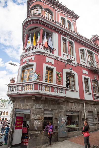 Quito, the capital of Ecuador - May, 2017