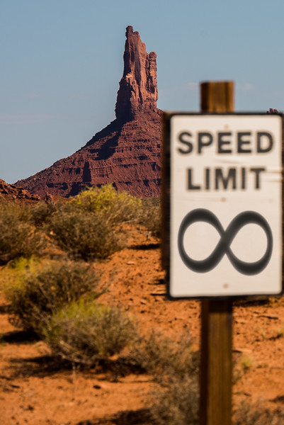 Monument Valley – Photoshopped Sign