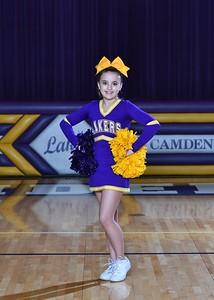 Laker MS Cheer