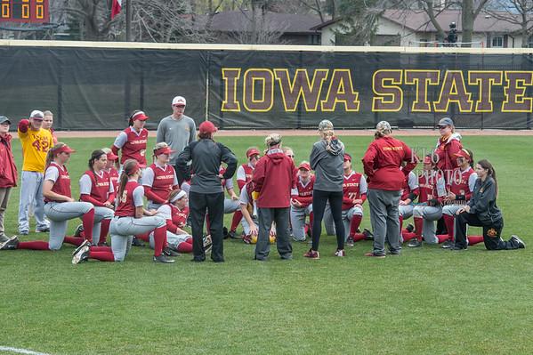 ISU Softball vs Indiana State 03/30/16