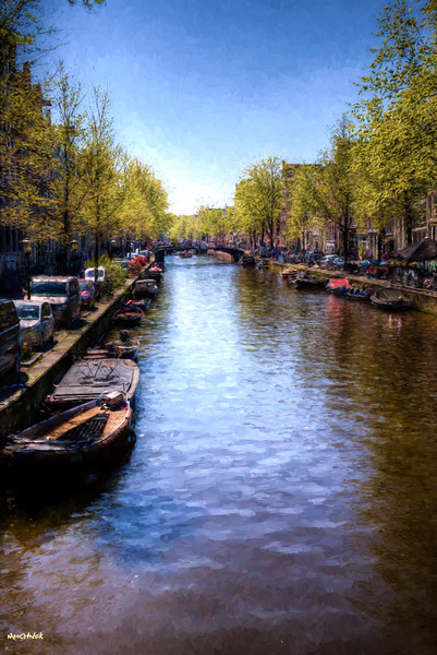 The Waterways of Amsterdam
