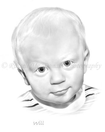'Pencil Sketch' Portraits