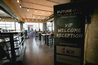 Future of AI VIP Welcome Reception, 19 March 2018