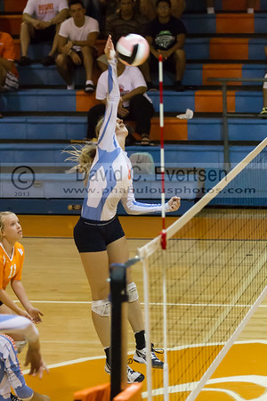 Colonial Grenadiers @ Boone Braves Girls Varsity Volleyball - 2013