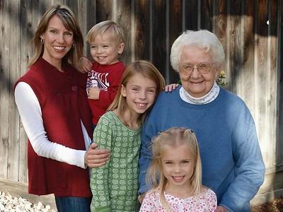 Frankie Siemens and family