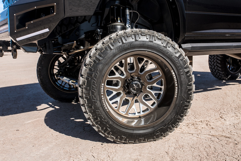 @Coreyrobinson66 2015 Dodge Ram 2500 MegaCab featuring our 24x14 PANIC from our Special Force Concave Series wrapped in 40x15.5r24 @NittoTires-145.jpg