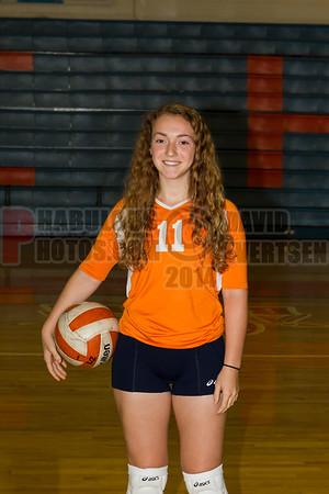 Girls JV Volleyball #11 - 2014