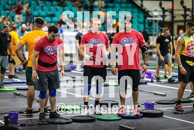 WOD 1 Inter Men and RX Men