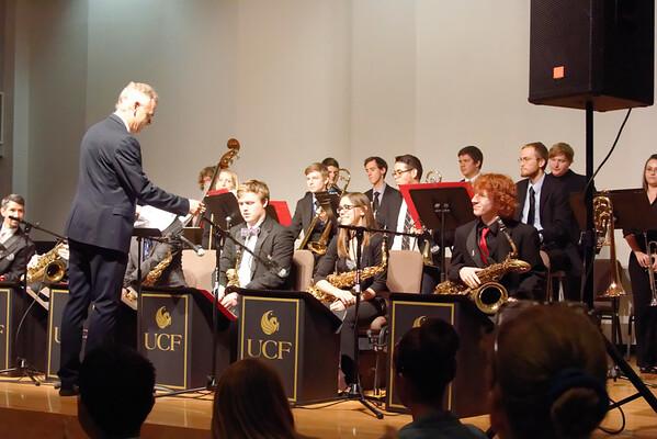UCF Jazz 2 Ensemble Concert 11/4/2014