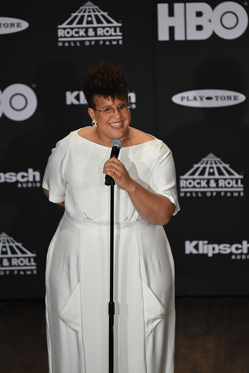 . Eric Bonzar�The Morning Journal<br> Alabama Shakes\' Brittany Howard.