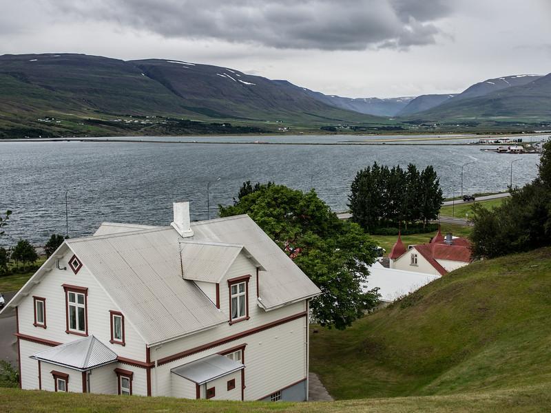 Akureyri, the northern capital.