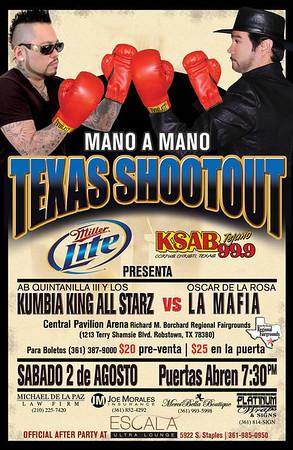 La Mafia vs Kumbia All Starz, Texas Shootout, Robstown, TX 8-2-2008