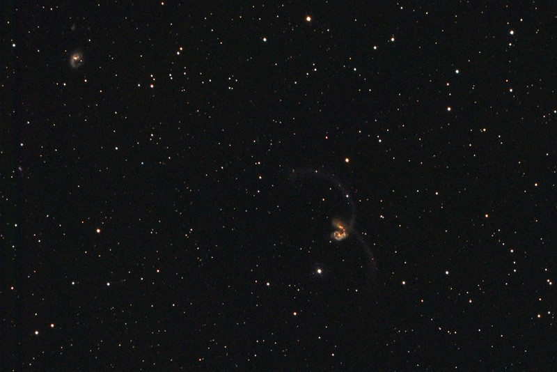 NGC4038-4039 Interacting Galaxies in Corvus