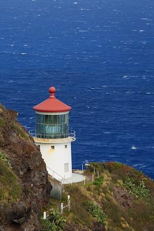 Makapu'u Lighthouse.  © 2019 Kenneth R. Sheide