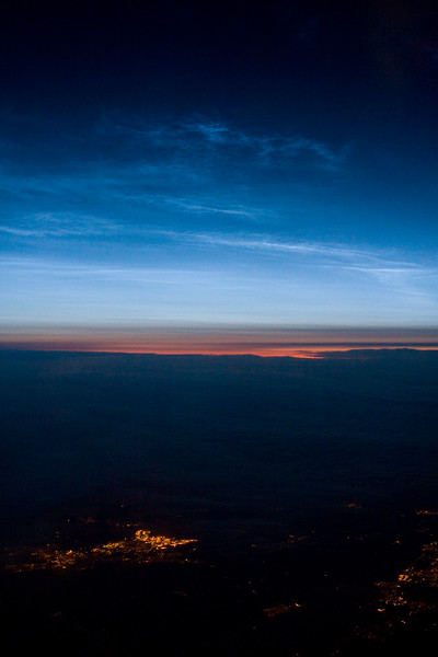 Over the UK