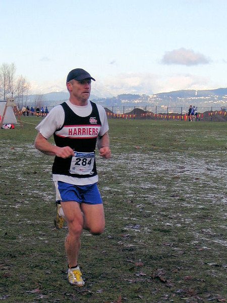 2005 Canadian XC Championships - Grim determination