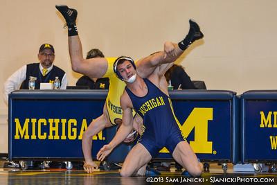 11-4-13 Michigan Wrestling - Maize & Blue Intrasquad