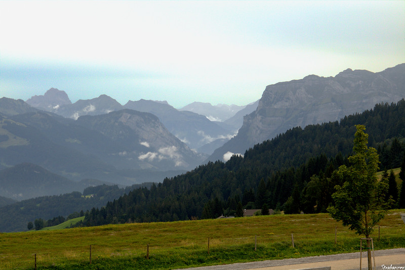 View from Fetz, Bodele, Vorarlberg, Austria 08/29/2019