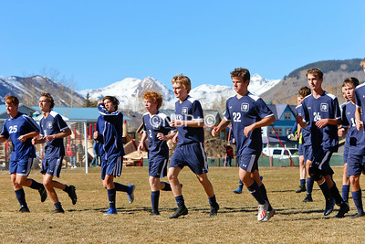 CBCS boys Soccer vs Telluride 10/26/19