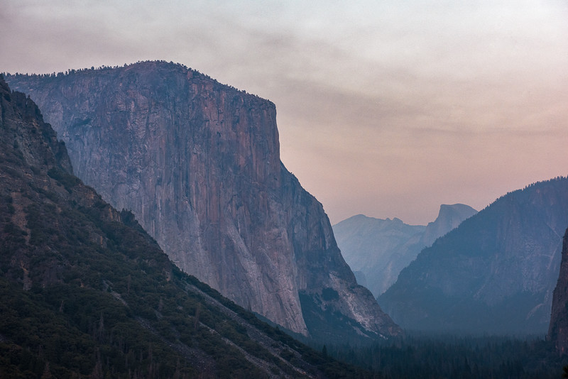 Yosemite Valley Sunset Tunnel View