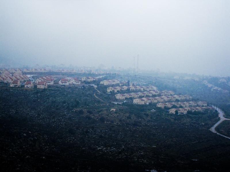 View of Ofrah settlement.