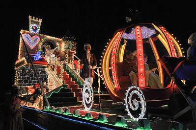 Lichtstoet en Sinterklaas 2012