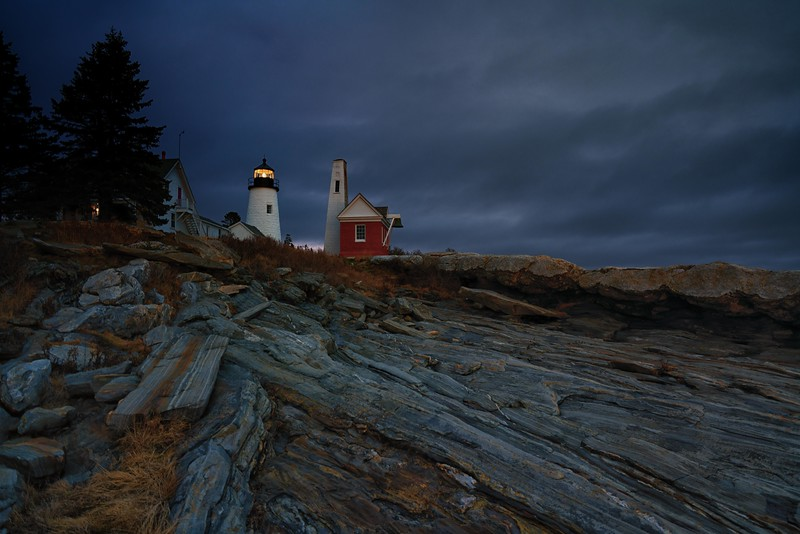Pemaquid Lighthouse. Bristol, Maine. December, 2015.