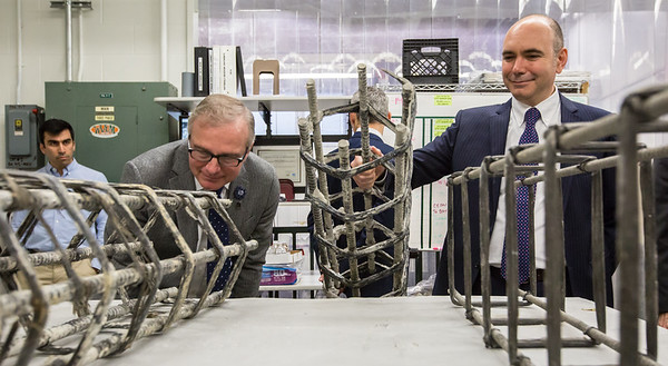 Tour of the Engineering Structures & Materials Lab