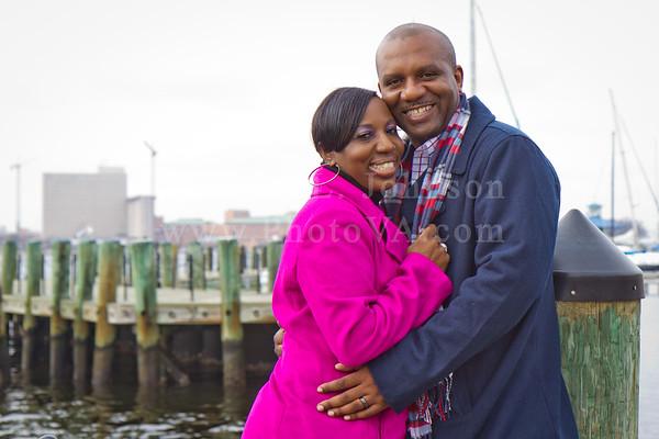 Tamika + Jemison: Norfolk Engagement Photography