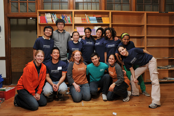 Martin Luther King Day of service 2010