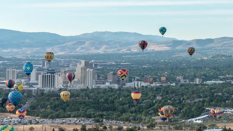 Great Reno Balloon Race 2019
