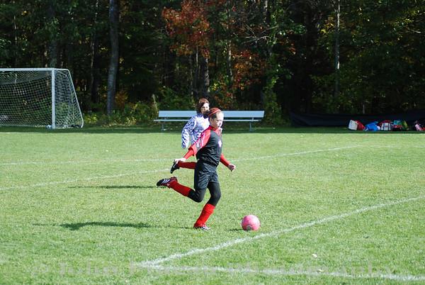 2009-10-11 Girls Soccer - South Portland Strikers vs Windham